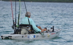 Le Premier kayak de pêche pour NEW CALEDONIA FISHING SAFARIS