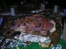 Le bougna, plat traditionnel kanak