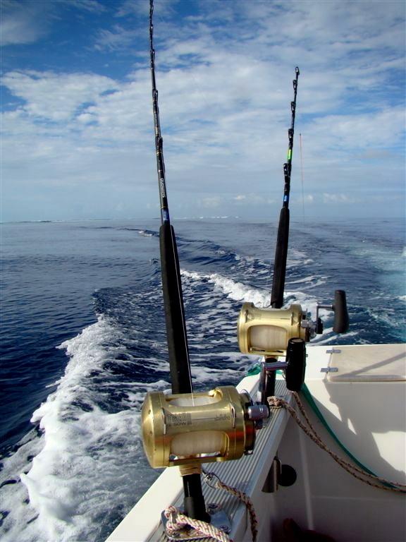 Une journée formidable...  au large du récif calédonien