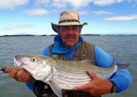 (Photo IGFA) Bonefish calédonien record du monde IGFA 16lb 8oz